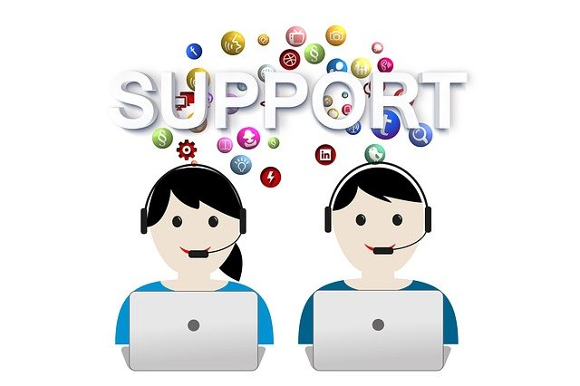 Support, Help, Call Center, Headset, Service