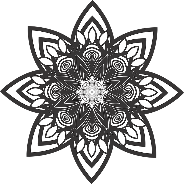 Mandala, Flower, Pattern, Healing, Purification