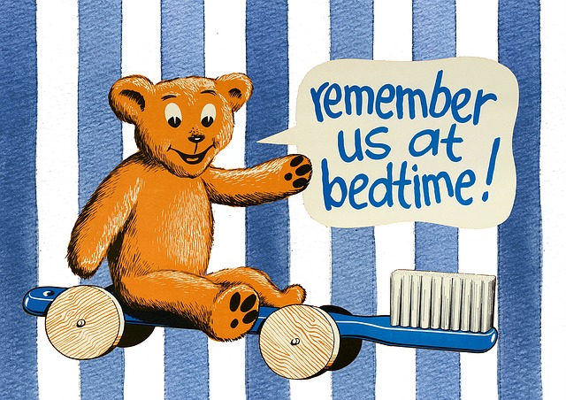 Bedtime, Kids, Girls, Pink, Tooth, Health, Toothbrush