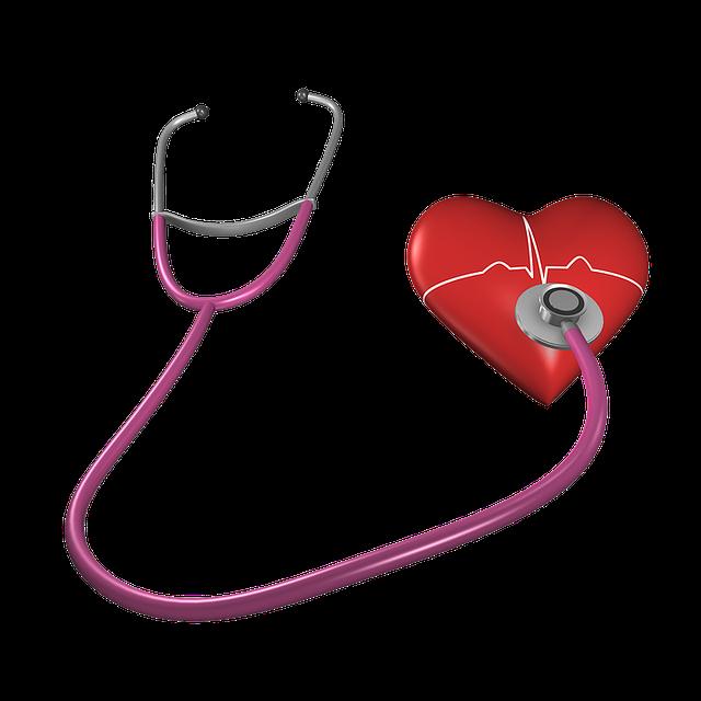 Heart, Shape, Stethoscope, Health Care, Heart Shape