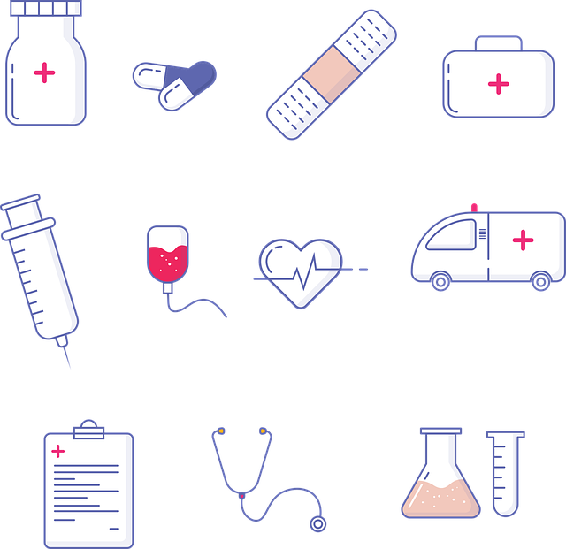 Medical, Hospital, Icons, Doctor, Health, Healthcare