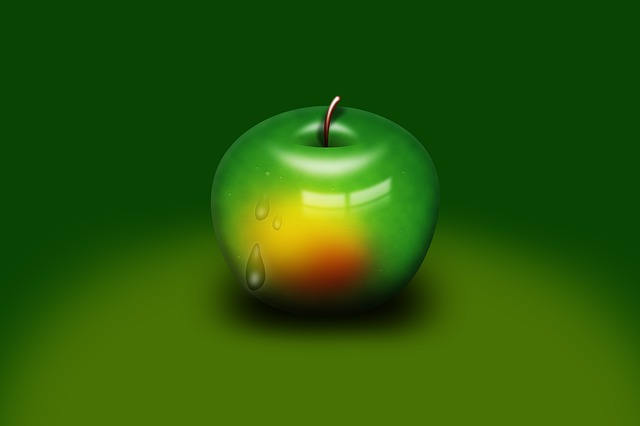 Apple, Fruit, Sweet, Delicious, Healthy, Green Apple