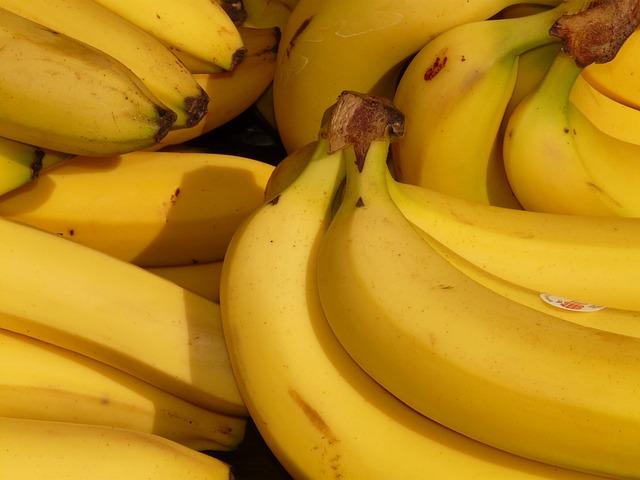 Banana, Fruit, Healthy, Yellow, Tropical, Food
