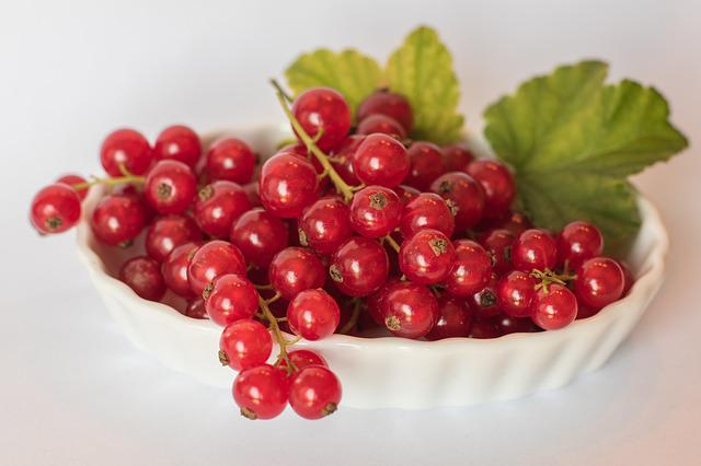 Currants, Red Summer, Healthy, Fruits, Berries, Fruit