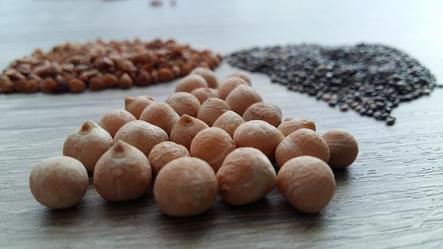 Food, Seed, Legume, Chickpeas, Chia, Healthy, Vegetable