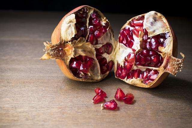 Granada, Fruit, Food, Healthy, Antirust, Autumn