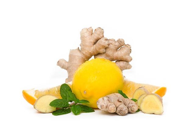 Lemon, Mint, Ginger, Food, Healthy, Desktop, Diet