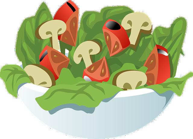 Salad, Vegetables, Meal, Healthy, Food, Vegetarian