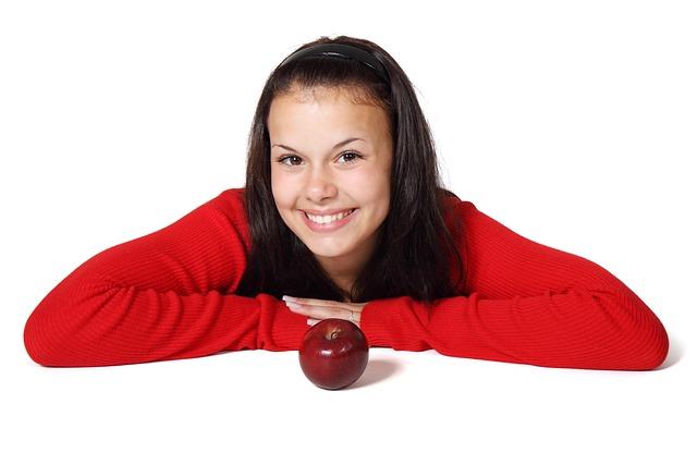 Apple, Cute, Diet, Female, Food, Fruit, Girl, Healthy