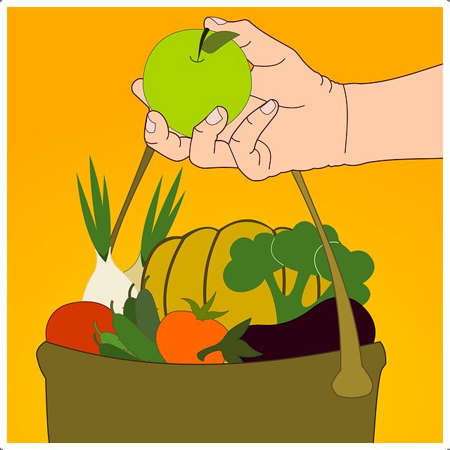 Apple, Fruit, Vegetable, Healthy, Green, Fruit Season