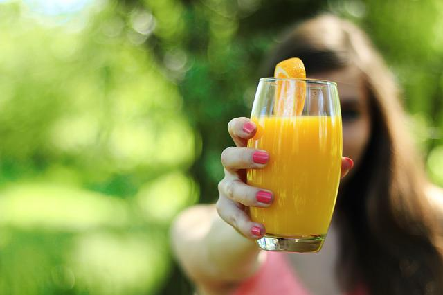 Orange Juice, Healthy, Glass, Drink, Juice, Orange