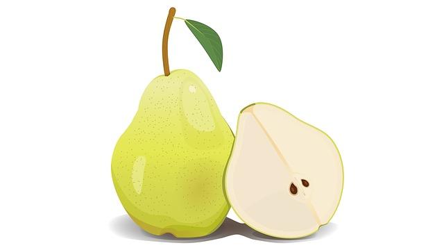 Pear, Fruit, Green, Healthy