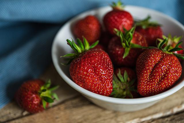 Strawberries, Shell, Fruit, Red, Delicious, Healthy