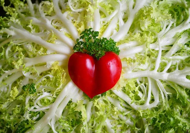 Friseesalat, Salad, Frisch, Vegetarian, Healthy