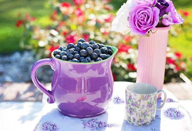 Blueberries, Summer, Fruit, Fresh, Healthy, Sweet