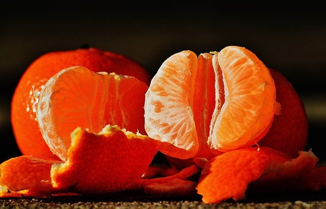Tangerines, Fruit, Citrus Fruit, Healthy, Vitamins, Eat