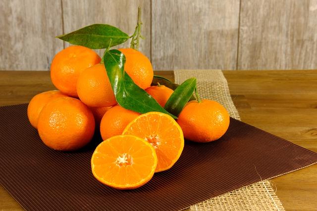Tangerines, Clementines, Oranges, Fruit, Healthy