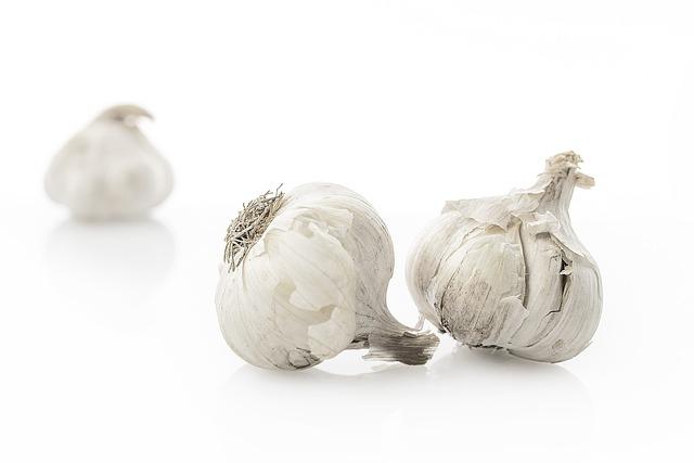 Garlic, Vegetables, Food, Substantial, Healthy