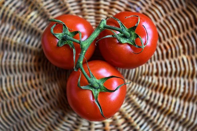 Tomato, Vegetable, Food, Vitamins, Healthy, Meal