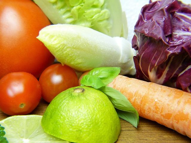 Vegetables, Lemon, Healthy, Nutrition, Vitamins, Eat