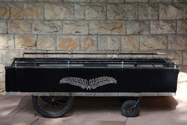 Stretcher, Hearse, Coffin, Funeral, Mourning