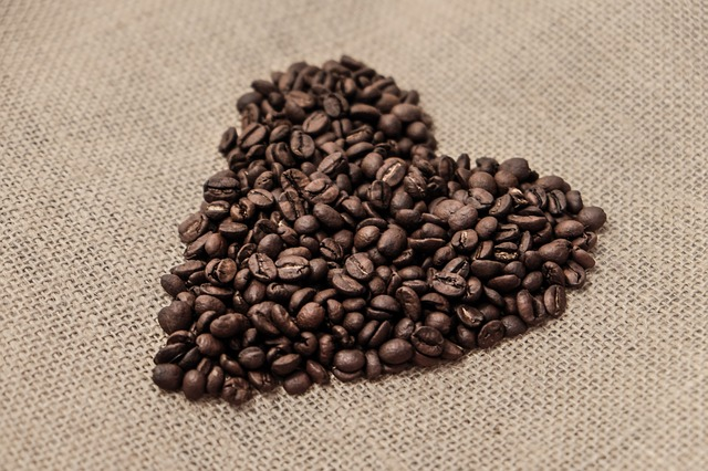 Coffee, Beans, Coffee Beans, Heart, Form