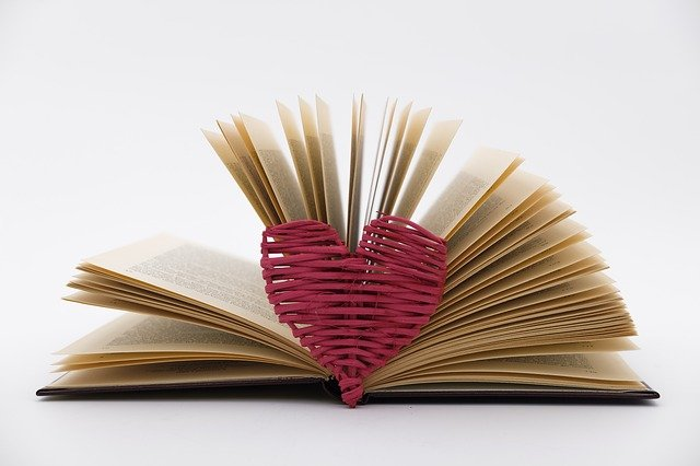 Heart, Love, Gift, Book, Leaves, Pages, Book Pages