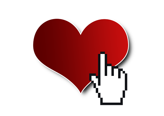 Cursor, Click, Heart, Love, Date, Internet, Dating