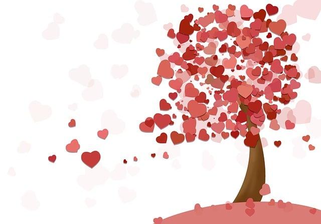 Heart, Tree, Love, Valentine's Day, Romance, Feelings