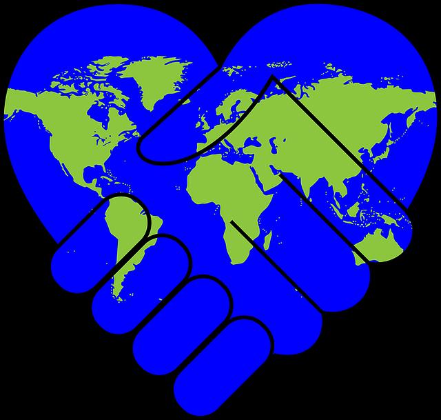 Cooperation, Friendship, Hands, Handshake, Heart