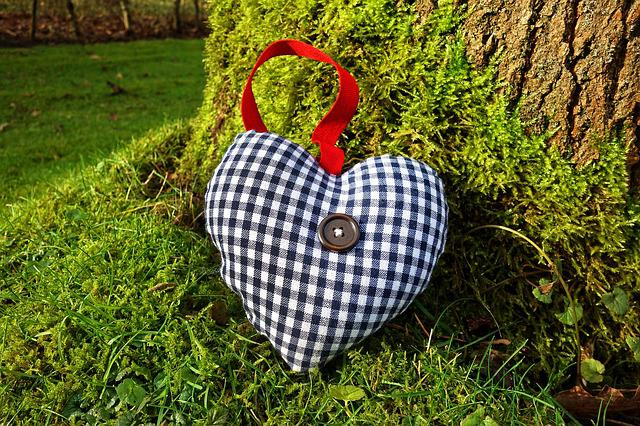 Heart, Stuffed Heart, Decoration, Interior, Home