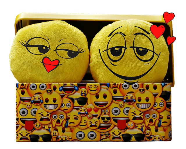 Smilies, Funny, Isolated, Love, Heart, Valentine's Day