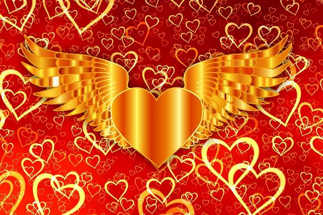 Heart, Light, Course, Love, Valentine's Day, Romance