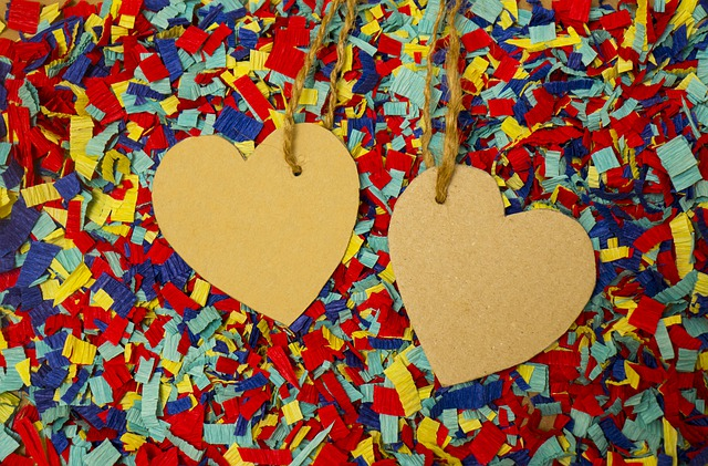 Heart, Paper, Background, Love, Rope Daddy