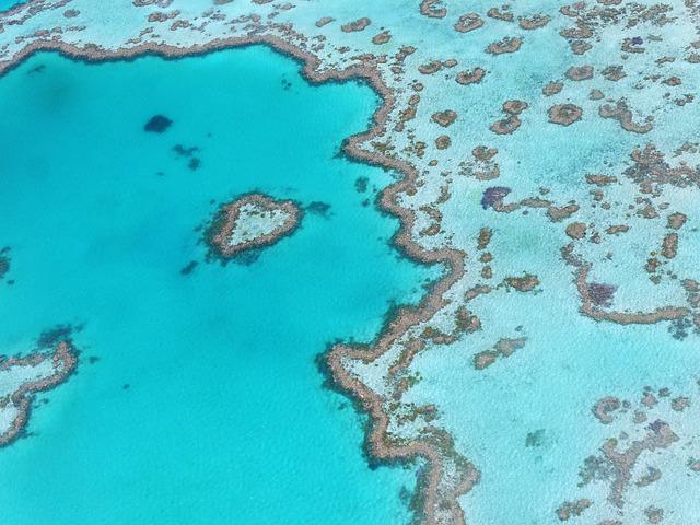 Heart Reef, Australia, Great Barrier Reef