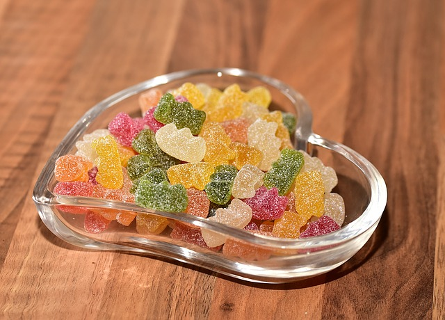 Fruit Jelly, Sour, Sugar, Shell, Heartbeat, Nibble