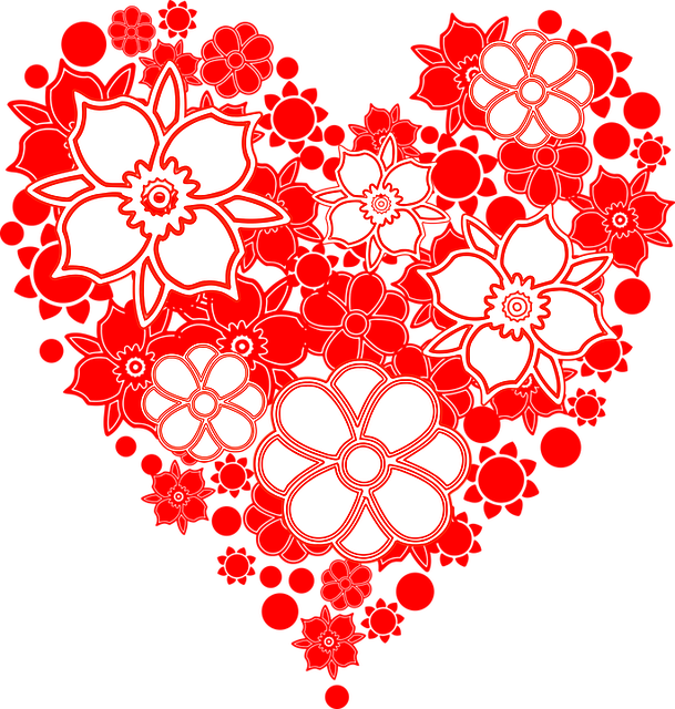 Flowers, Heart, Hearth