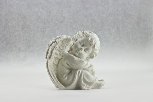 Angel, White, Heaven, Wing, Beautiful, Isolated
