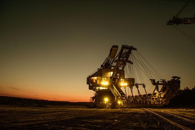 Mining Excavator, Mining, Heavy Machinery