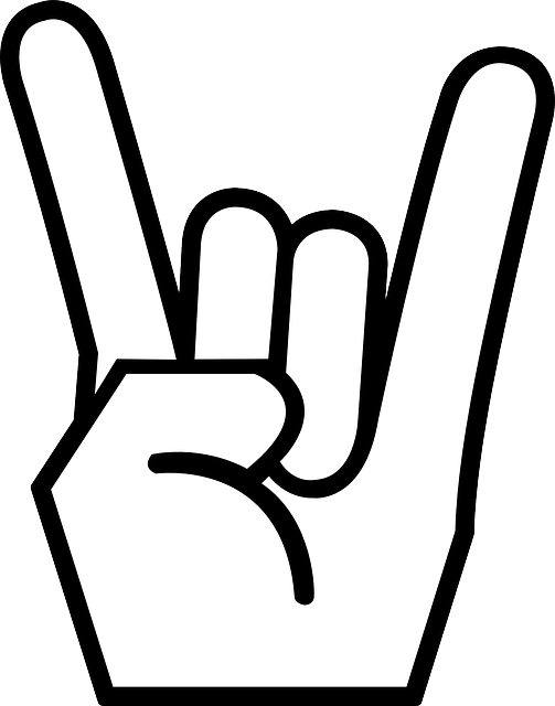 Gesture, Fingers, Rock 'n' Roll, Heavy Metal, Sign