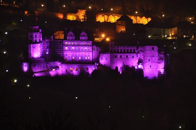 Heidelberg, Castle Heidelberg, Castle Illuminations