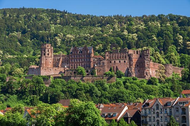 Heidelberg, Heidelberger Schloss, Historically