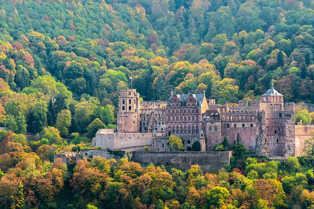 Heidelberg, Castle, Historically, Places Of Interest