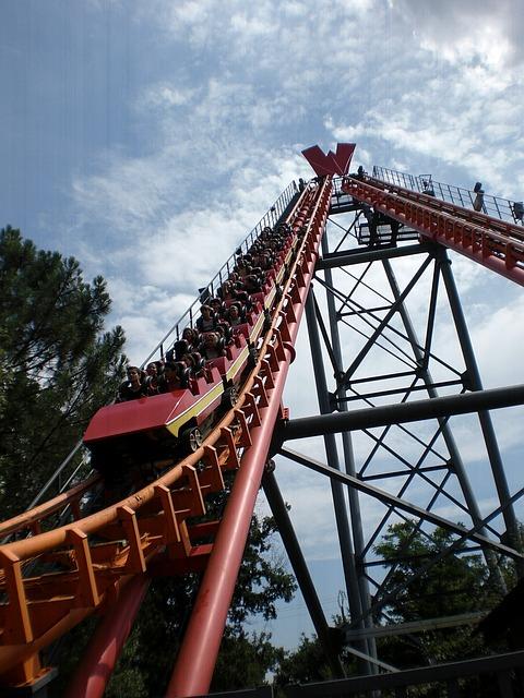 Amusement Park, Manege, Fairground, Height, Coaster