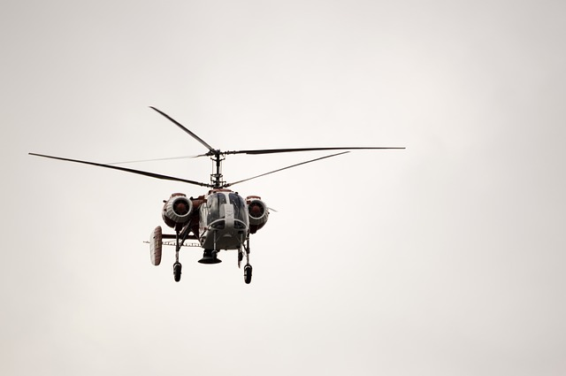 Helicopter, Fly, Air