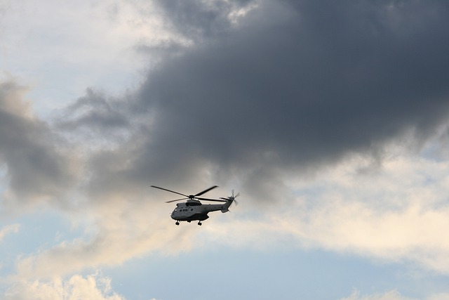 Helicopter, Flying, Sky, Oryx, Rotor, Airborne