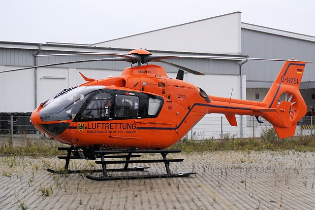 Helicopter, Rescue, Flying, Help, Rotor