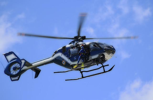 Helicopter, National Gendarmerie, Rescue, Frogman