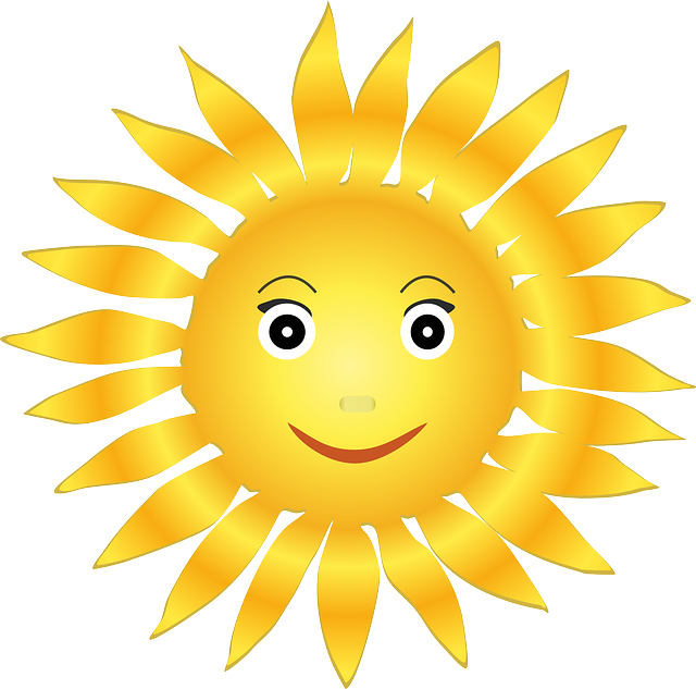 Sun, Solar, Helios, Happy, Face, Bright, Light