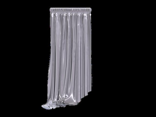 Curtain, Fabric, Transparent, Translucent, Hell, White